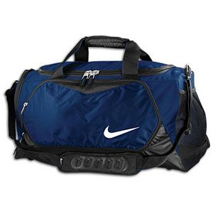 Nike Team Training Max Air Medium Duffle   Midnight Navy/Black/White