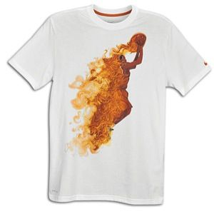 Nike KD On Fire T Shirt   Mens   Basketball   Clothing   White/Desert