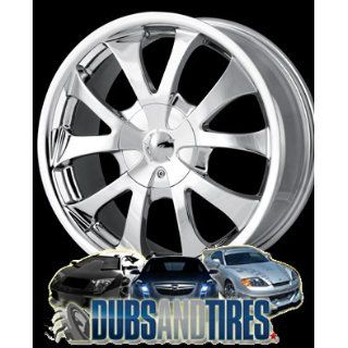 17 Inch 17x7 Ion Alloy wheels STYLE 121 Chrome wheels rims :