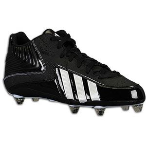 adidas Response D 5/8   Mens   Football   Shoes   Black/White/White