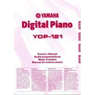 Yamaha Digital Piano Ydp 121 Owners Manual Yamaha Books