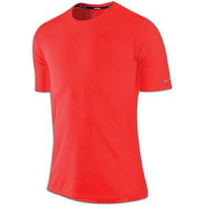 Nike Dri Fit Softhand S/S Running T Shirt   Mens   Running   Clothing