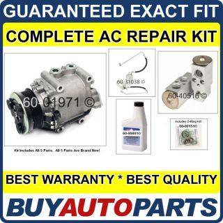 AC Repair Kit with Compressor Clutch for Five Hundred Montego