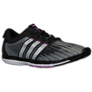 adidas adiPure Gazelle   Womens   Running   Shoes   Black/Metallic