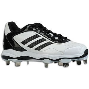 adidas Abbott Pro Metal 2   Womens   Softball   Shoes   White/Black