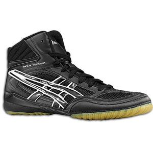 ASICS® Split Second 7   Mens   Wrestling   Shoes   Black/White