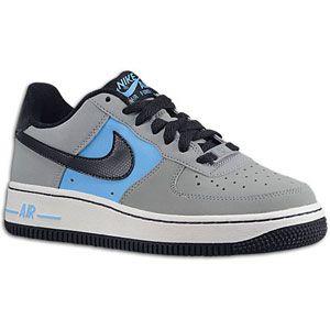 Nike Air Force 1 Low 06   Boys Grade School   Stealth/Dark Obsidian