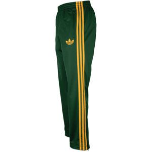 adidas Originals Firebird Track Pant   Mens   Dark Green/Craft Gold