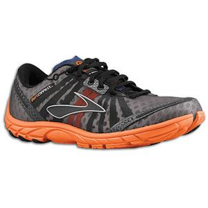 Brooks PureConnect   Womens   Running   Shoes   Red Orange/Graystone