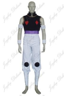 Hunter x Hunter Hisoka Cosplay Costume Halloween Clothing XS XXL