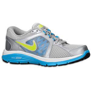 Nike Dual Fusion Run   Womens   Running   Shoes   Metallic Silver