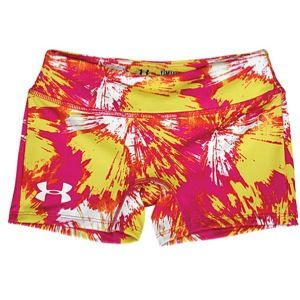 Under Armour Heatgear Sonic 3 Short   Girls Grade School   Training
