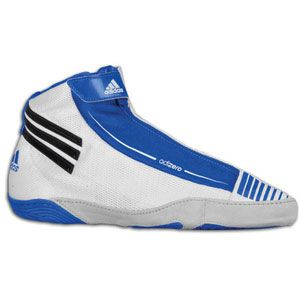 adidas adiZero Sydney   Mens   Wrestling   Shoes   White/Black/Royal