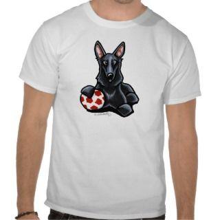 Black German Shepherd Dog T Shirt
