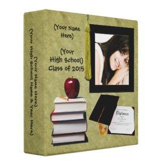 Libro de la memoria de la graduación personalizada de