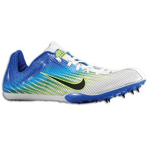 Nike Zoom Mamba 2   Mens   Track & Field   Shoes   White/Game Royal