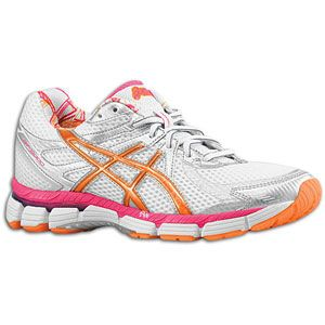 ASICS® GT 2000   Womens   Running   Shoes   White/Bright Orange
