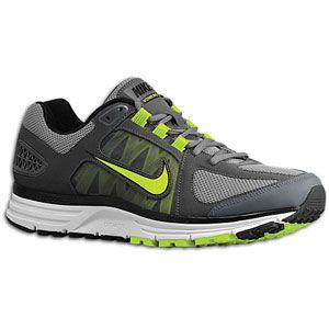 Nike Zoom Vomero + 7   Mens   Running   Shoes   Cool Grey/Volt/Dark