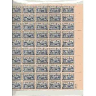 West Point, U.S. Military Academy Sheet of 50 x 5 Cent US
