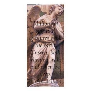 Angelic Angel Quotes   Angel Quotation Custom Rack Card