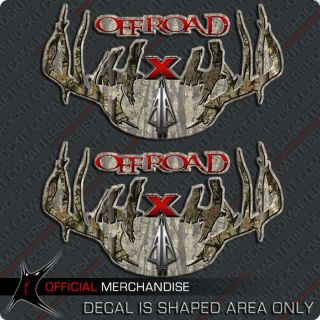 4x4 Archery Hunting Decal Decals RAM