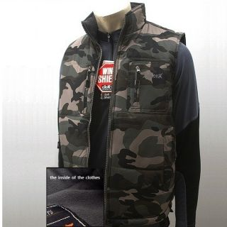 Army Camouflage Vest Jacket Camo Vest Hunting Coat