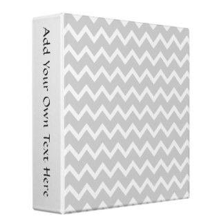 Zig zag pattern in light gray and white. A stylish monochrome chevron