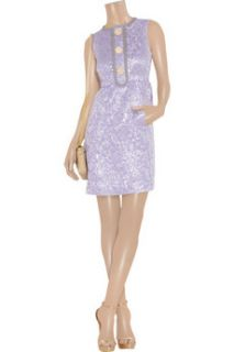 Marc Jacobs Metallic brocade shift dress   65% Off