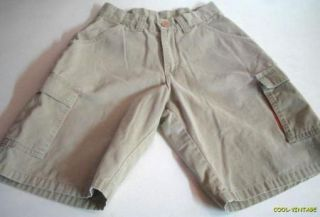 Hurley Boys Young Mens Size 26 Khaki Chinos Skate Board Surf Cargo