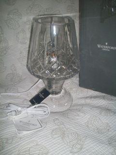 Waterford Crystal Hurricane Lamp