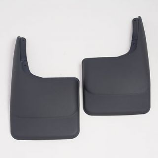 Husky Custom Molded Mud Flaps 57281 Thermoplastic Black Rear