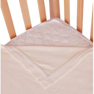 Quickzip Mink Zipper Crib Sheet, White Baby