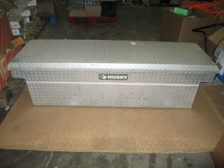 Husky Full Size Deep Well Aluminum Truck Tool Box Fits most Full Size