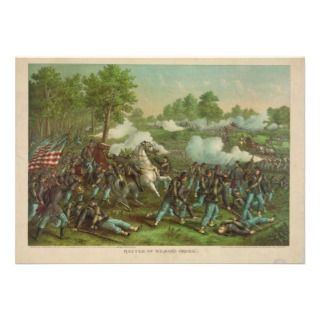 American Civil War Battle of Wilsons Creek 1861 Announcements