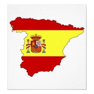 Mapa de la bandera de España del mismo amaño Poser de