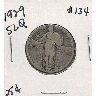 1929 Standing Liberty Quarter in 2x2 coin holder #134