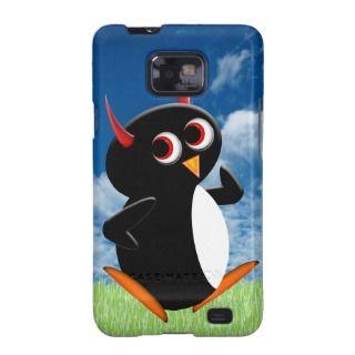 Evil Penguin™ Lile Poser Samsung Galaxy S Cover