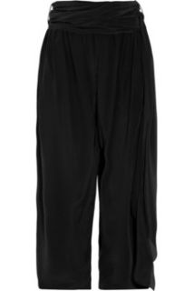 3.1 Phillip Lim Silk crepe de chine wide leg gaucho pants   60% Off