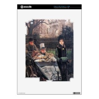 The daughter of the warrior by James Tissot iPad 2 Skin