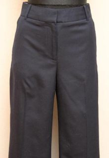 158 JCrew Super 120s Wool Hutton Trouser 8 Black