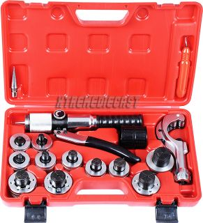 Tubing Expander Tool Swaging Kit HVAC Tools Tube Piping Pipe