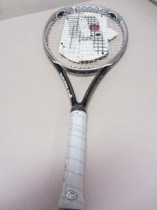 Prince O3 Hybrid Spectrum Oversize Tennis Racquet New w 2 Broken