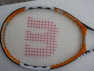 Wilson Tennis Racket Racquet Nfocus Hybrid SI 60 Strung