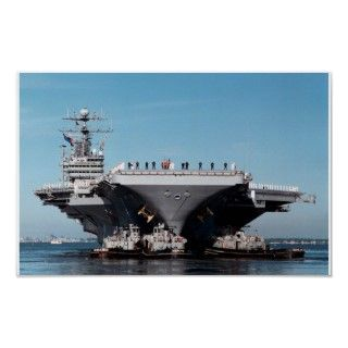 USS George Washington CVN 73 Aircraft Carrier Poster