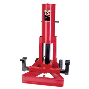 Forge and Foundry aff 3598 10 Ton Air End Lift Hydraulic Jack