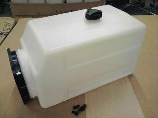 Plastic Reservoir Tank 2 Gallon Fenner Stone Hydraulic Power Unit 3824