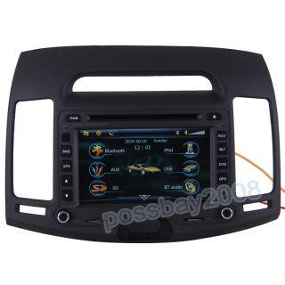 07 10 Hyundai Elantra Car GPS Navigation Bluetooth iPod Radio MP3 TV