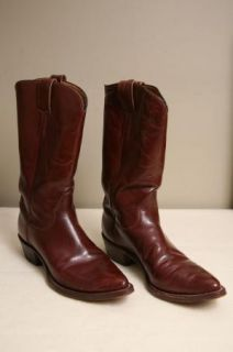 Vintage Hyer Western Cowboy Boots Size 11 A with Original Box