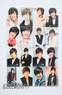 Kim Hyun Joong SS501 Korean Boy Band Sticker S2