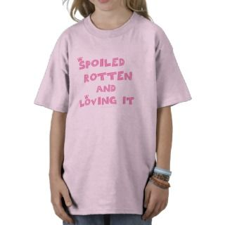 Spoiled Rotten Kids Shirt (pink text)